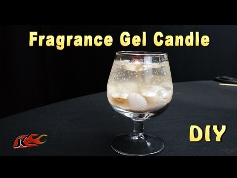 How to make Fragrance Gel Candles | DIY Scented Gel Candle making | JKArts 1137