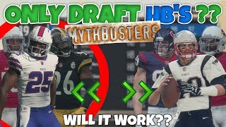 WHAT WOULD HAPPEN IF YOU ONLY DRAFTED HB