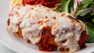 Rolled Chicken Parma