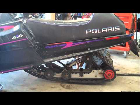 How To: Rear Suspension Removal (snowmobile)