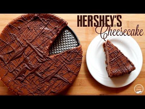 Hershey's Chocolate Cheesecake Recipe | The Sweetest Journey