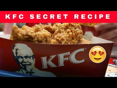 KFC Secret Recipe | 11 Herbs and Spices