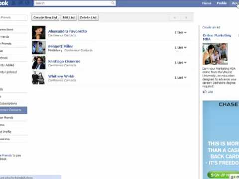 How to create Facebook friend lists and manage who sees what on your Facebook profile