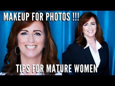 How do I apply makeup for a professional photograph | Mature Women over 30 | mathias4makeup