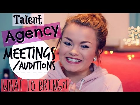 What to Expect at Talent Agency Meetings + What to Bring!