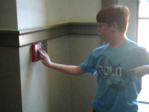 Pulling the fire alarm at UGA new Student Learning Center