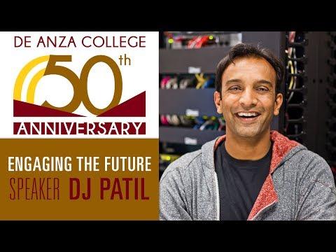 50th Anniversary Speaker DJ Patil: Alumnus and First U.S. Chief Data Scientist   De Anza College