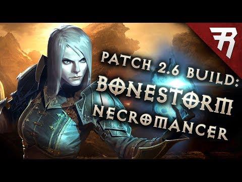 Diablo 3 2.6 Necromancer Build: BONESTORM Inarius GR 107+ (Guide, Season 11)