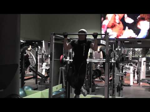 Weighted Pull ups For Huge back and biceps (compound movement) (build muscle mass)