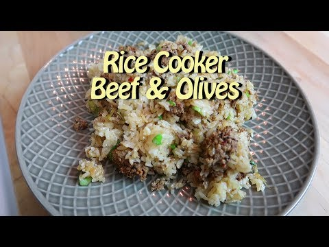 Rice Cooker One Pot Beef with Chinese Salted Olives Easy Recipe Eps 79