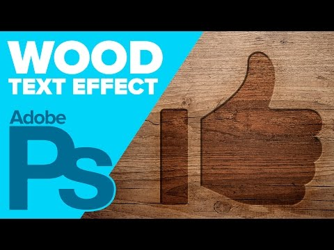 How to Carve Wood in Adobe Photoshop
