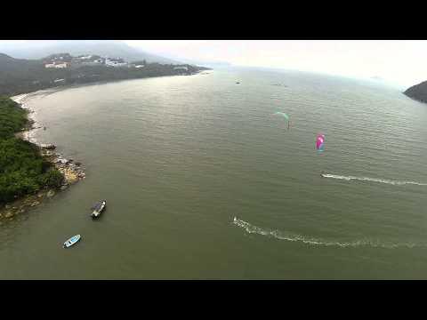 Kiteboarding hong kong DJI Phantom