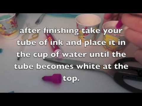 How to make Marker Hair Dye (: