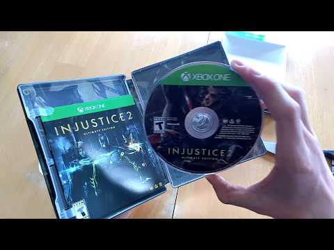 Injustice 2 Ultimate Edition Xbox One unboxing!