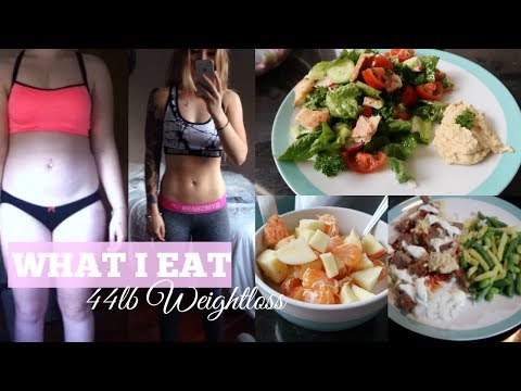44lb Weightloss: What I Eat in a Day II