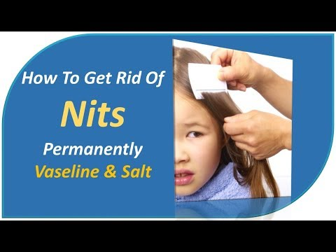 how to get rid of nits permanently - Vaseline & Salt