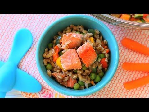 Farro Salmon Salad recipe +9M