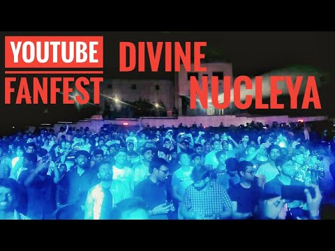 YOUTUBE FANFEST 2018 | DIVINE AND NUCLEYA | #YTFF