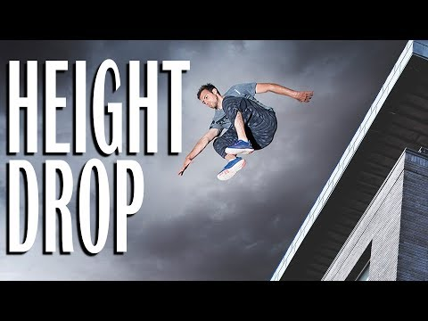 How To JUMP FROM A ROOF SAFELY - Height Drop Tutorial