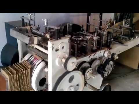 Kraft Paper Bag Making Machine with Printing