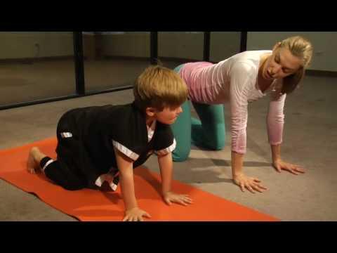 Kids Yoga, Raising Healthy Children, kids exercise