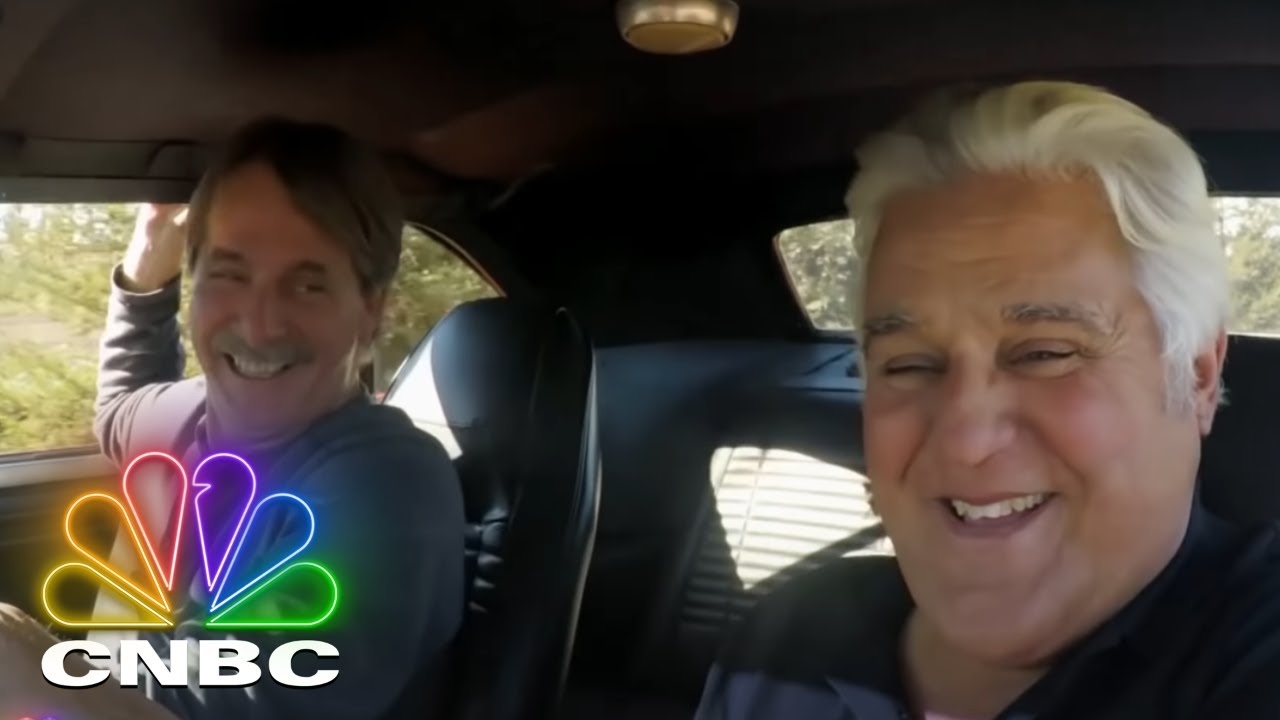 Jeff Foxworthy and Jay Leno Cruise Around In a 1970 Dodge Challenger R/T   Jay Leno's Garage