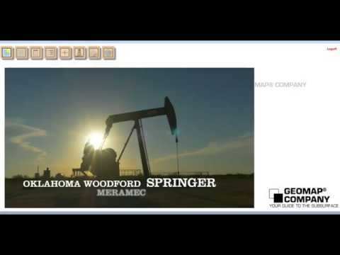 Geomap® Online STACK & SCOOP Oil and Gas