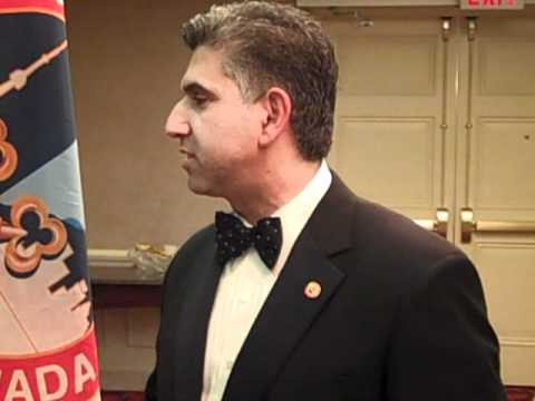 Toni Daoud, Concierge, Sutton Place Hotel and Chairman, 58th Les Clefs d'Or International Congress