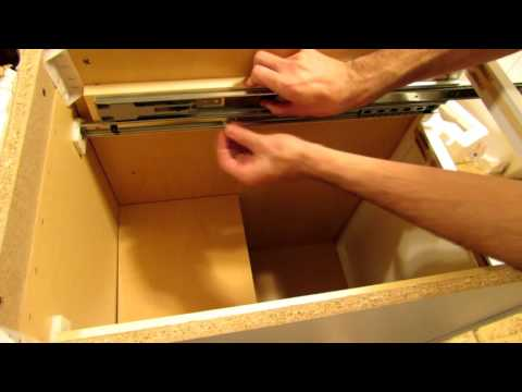 How to replace drawer slides
