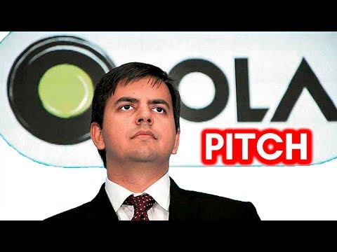 Bhavish Aggarwal, CEO & Co-Founder at Ola Cabs, pitching at eSparks-2011