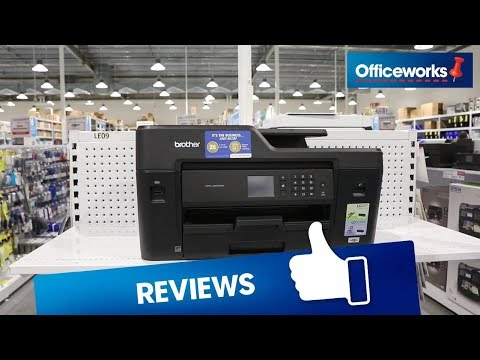 Brother Wireless A3 Inkjet MFC Printer J6530DW Overview