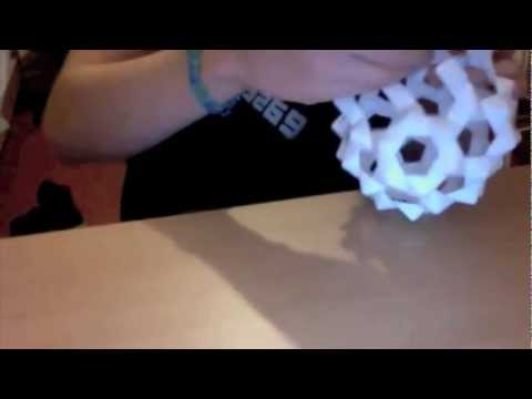 Origami Truncated Icosahedron