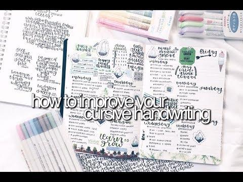 How To Improve Your Cursive | DRASTICALLY || revisign