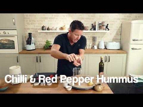 Chilli & Red Pepper Hummus Jason Vale Recipe
