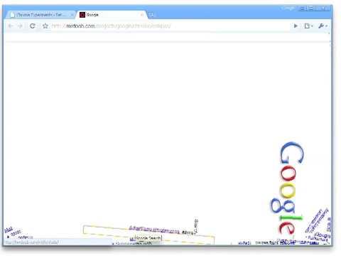 Chrome Experiment - Google Gravity
