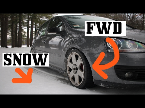 Tips for Driving FWD in Snow