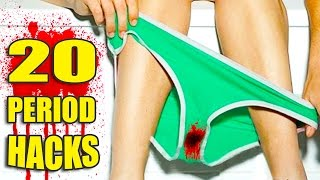 Download 20 Period Life HACKS 🌺 All Girls Need to Know! Video