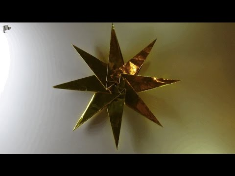 Origami【Christmas Ornament】star