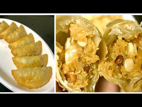 Mawa Gujiya recipe | Recipe in Hindi | मावा वाली गुजिआ बनाये घर पर इस रेसिपी से आसान तरीके से