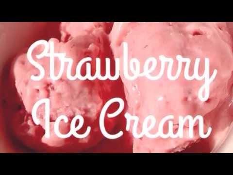 Paleo Strawberry Ice Cream