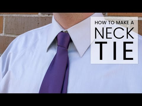 How to Make a Necktie