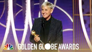 Ellen DeGeneres Honored: Achievement in Television - Golden Globes