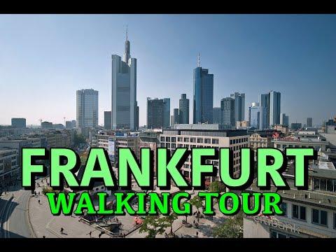 Frankfurt am Main Walking Tour POV | Germany