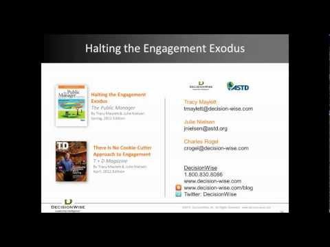 Employee Engagement: Halting the Employee Engagement Exodus