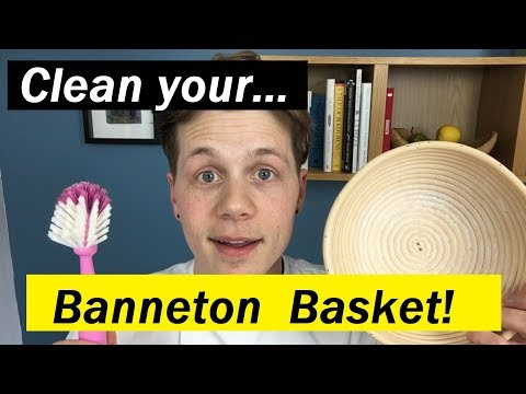 How to Keep Your Banneton Basket Clean - Bread Tip 66 - Bake with Jack