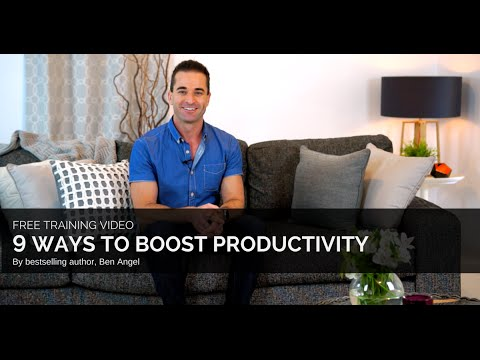 How to Increase Productivity: 9 Ways to Instantly Boost Your Productivity
