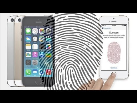 iPhone 5s Fingerprint DEMO & GUIDE (Apple Touch ID Test)