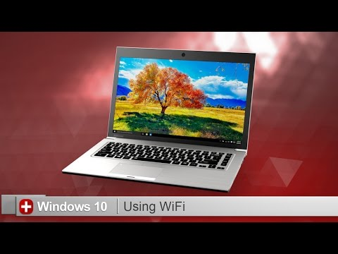 Toshiba How-To: Connecting to Wi-Fi using Windows 10