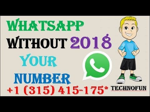 How To Create Whatsapp Account With Fake Number - WhatsApp With 2ndline and Parallel Space best app