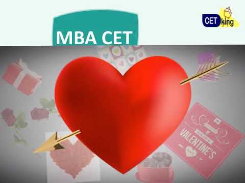 MBA CET 2018 Syllabus. Find Topics u love / hate this valentines day